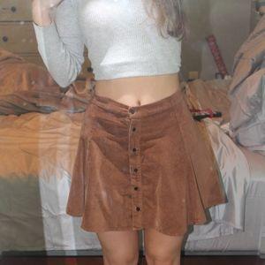 NEW Brandy Melville button down Skirt